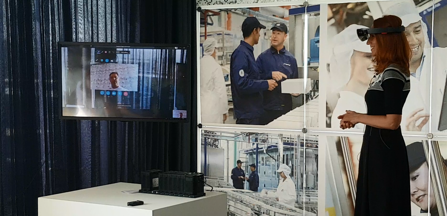 Hololens in industry 4.0
