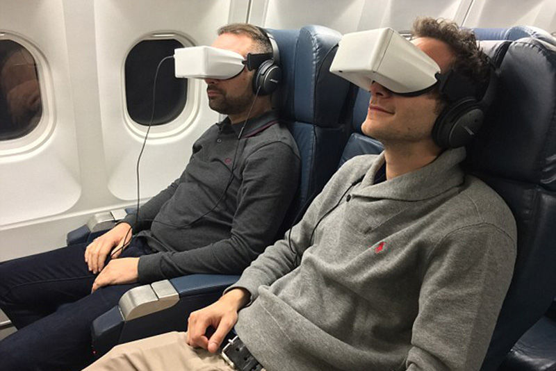 VR on flight